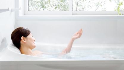 お風呂 浴室 TOTO サザナ sazana Nタイプ 浴槽 ゆるリラ浴槽