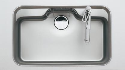 お風呂 浴室 Panasonic リビングステーション V-style 標準プラン スライドタイプ シンク スキマレスシンクステンレスMタイプ