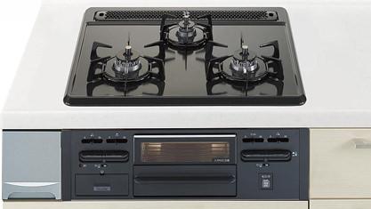 お風呂 浴室 Panasonic リビングステーション V-style 標準プラン スライドタイプ 加熱機器 幅600mm・ホーロートップ片面焼きグリル